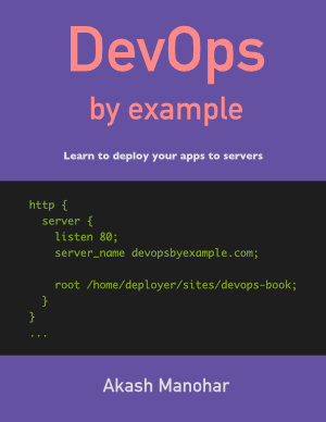 DevOps By Example cover